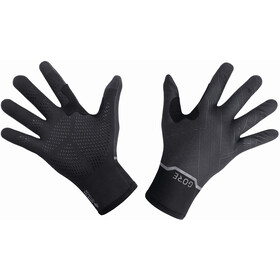 GORE WEAR Gore-Tex Infinium Stretch Mid Gloves, black/terra grey
